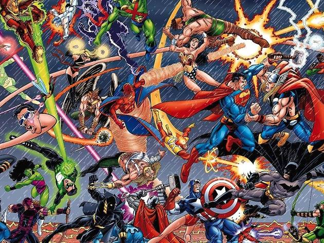 L'Art de DC – L'Aube des Super-Héros