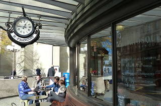 Le Kiosque Saint-Francois, Lausanne cafe, Time Out Switzerland