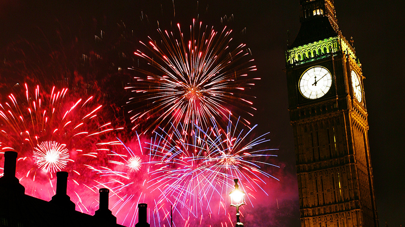 Watch last year's New Year's Eve fireworks