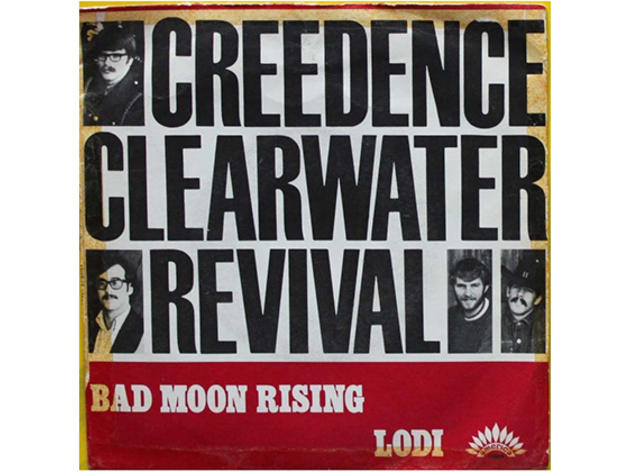 """""""Bad Moon Rising"""" by Creedence Clearwater Revival"""