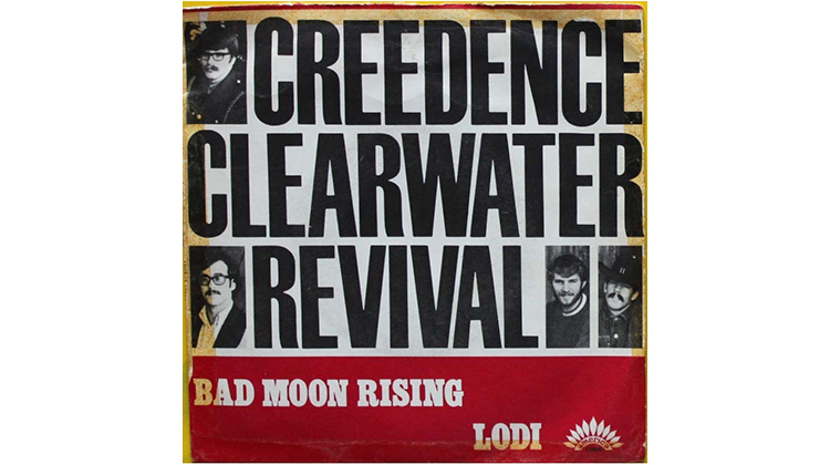 Best running songs: Bad Moon Rising by Creedence Clearwater Revival