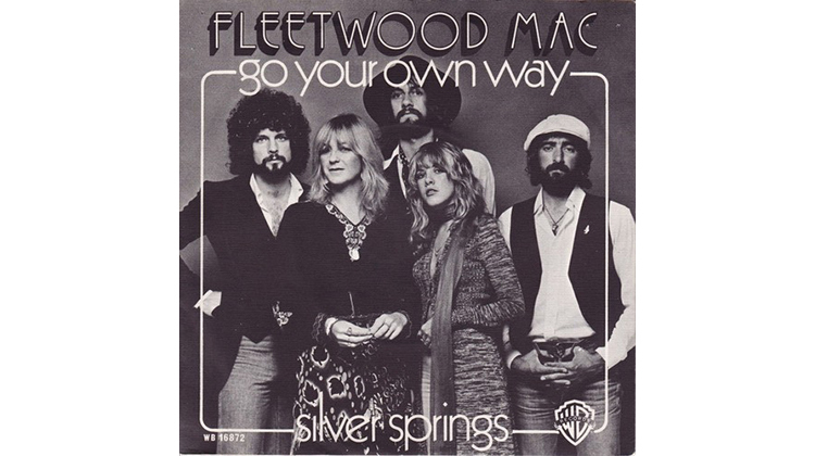 Best running songs: Go Your Own Way by Fleetwood Mac