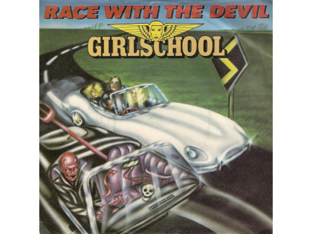 """Race with the Devil"" by Girlschool"