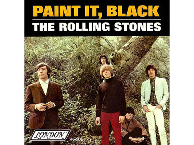 """Paint It Black"" by the Rolling Stones"