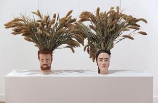 (Galerie Catherine Bastide / Photo : © TB / FIAC 2015)