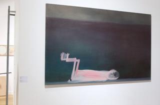 (Galerie Jocelyn Wolff / Miriam Cahn / Photo : © TB / FIAC 2015)