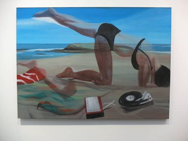 (Galerie Eigen + Art / Marc Desgrandchamps / Photo : © TB / FIAC 2015)