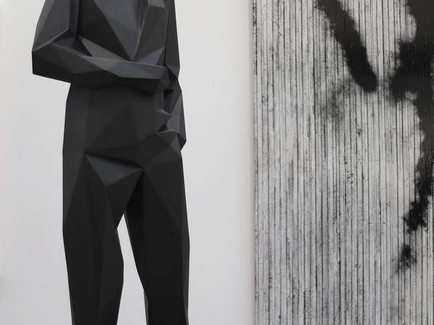 (Galerie Emmanuel Perrotin / Xavier Veilhan / Photo : ©TB / FIAC 2015)