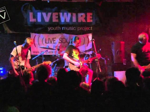 Livewire is a bandstand for budding artists to show their skills