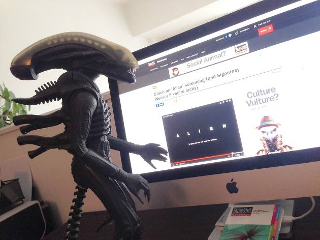 ALIEN uses Time Out
