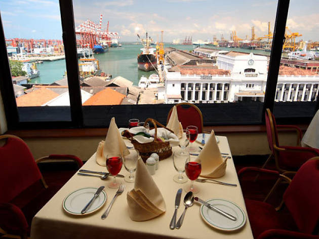 Executive lunch buffet at Harbour room