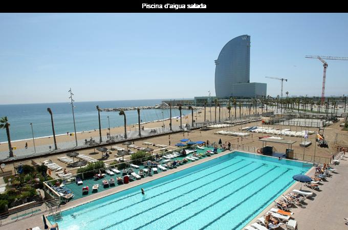 Piscinas para practicar nataci n en barcelona for Piscinas nudistas en madrid