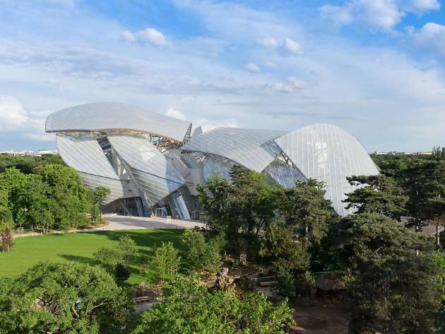 Check out the Fondation Louis Vuitton