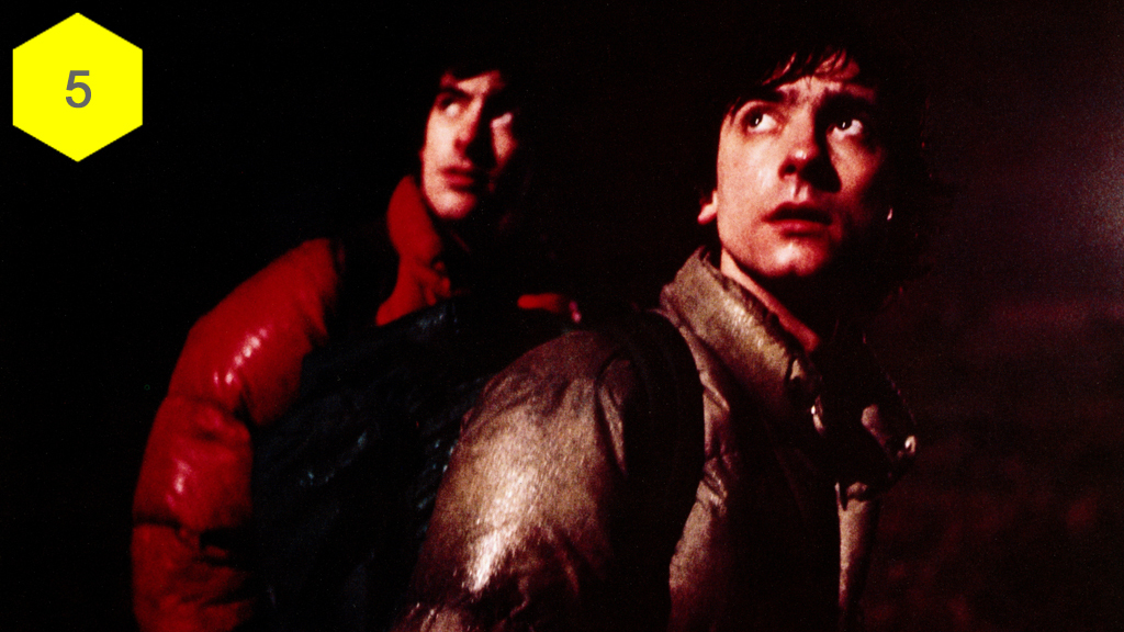 An American Werewolf in London, terrifying movie moments, horror movies