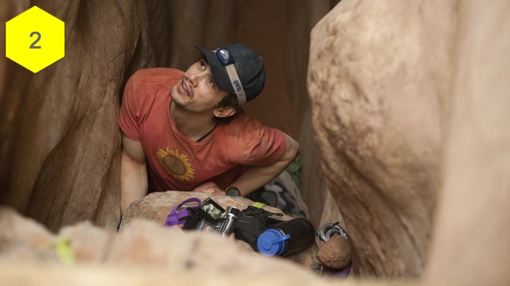 127 Hours, terrifying movie moments, horror movies