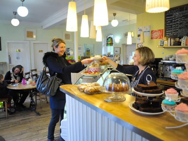 An Clachan, Cafes, Glasgow
