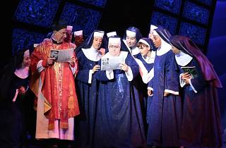 El Mercat de la Boqueria se transforma en el convento de Sister Act