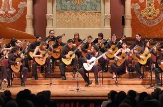 Certamen Llobet 2014 + Orquestra de Guitarres de Barcelona
