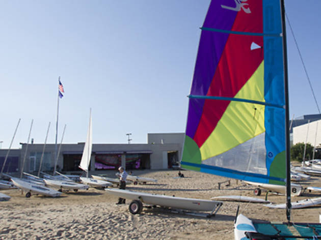 Northwestern University Sailing Center, Evanston