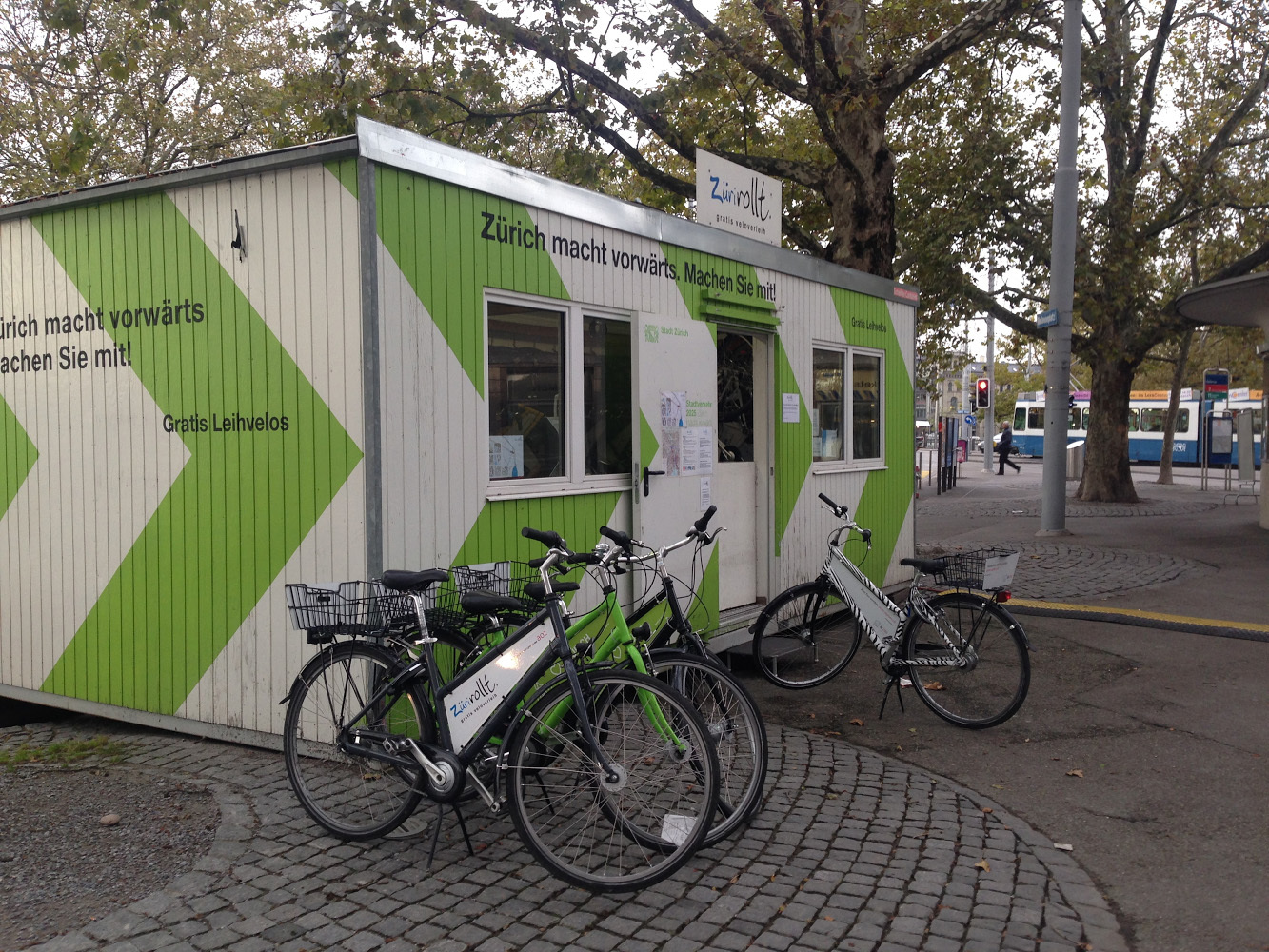 Free bike hire • Zurich