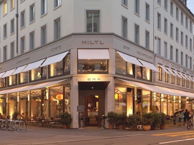 Hiltl vegetarian restaurant Zurich