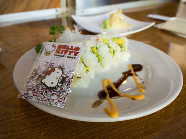 Hello Kitty Sushi (Photograph: Michael Juliano)