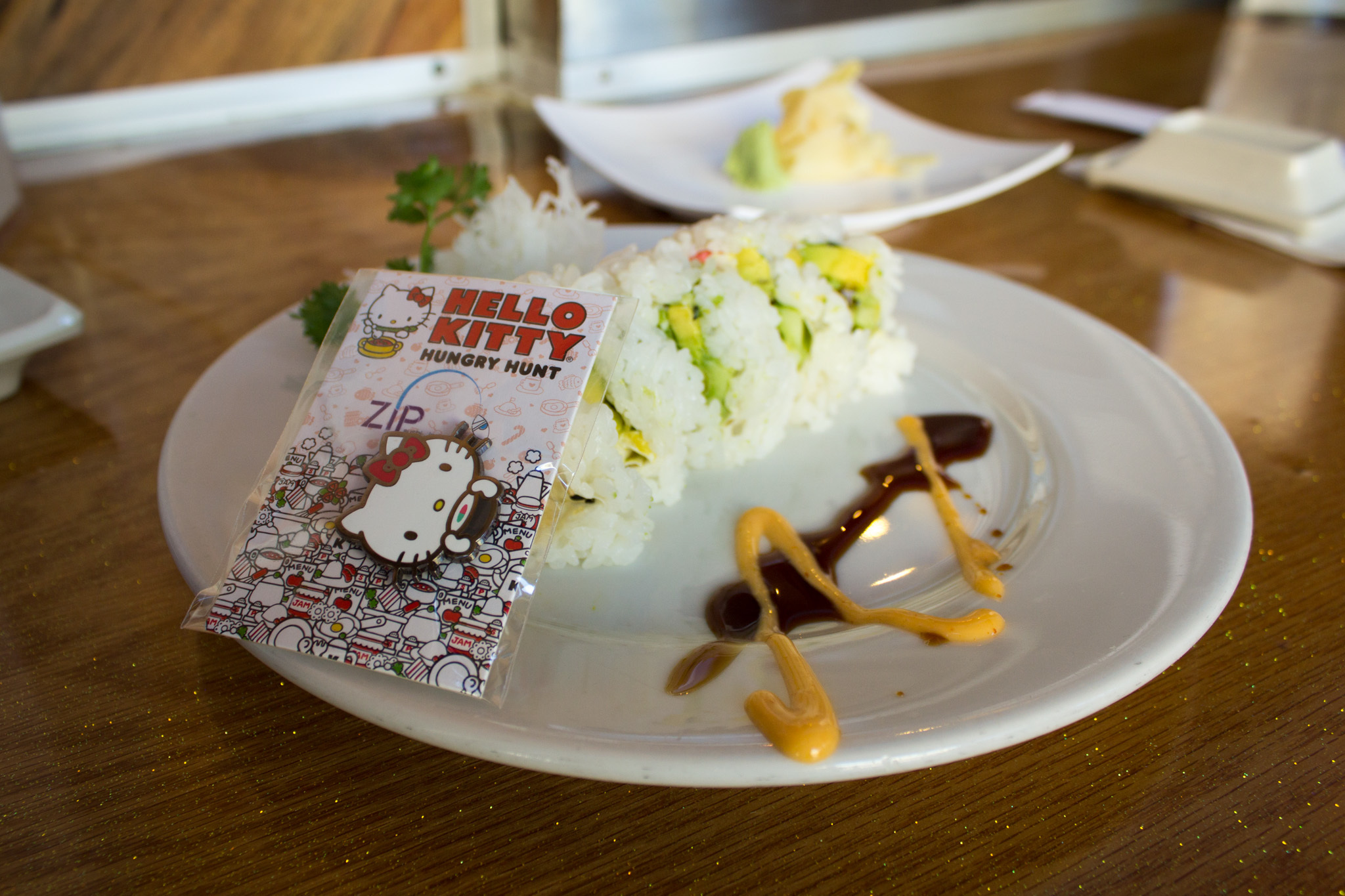 Hello Kitty Hungry Hunt at Zip Sushi & Izakaya.