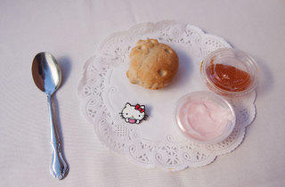 Hello Kitty Scone (Photograph: Erin Kuschner)