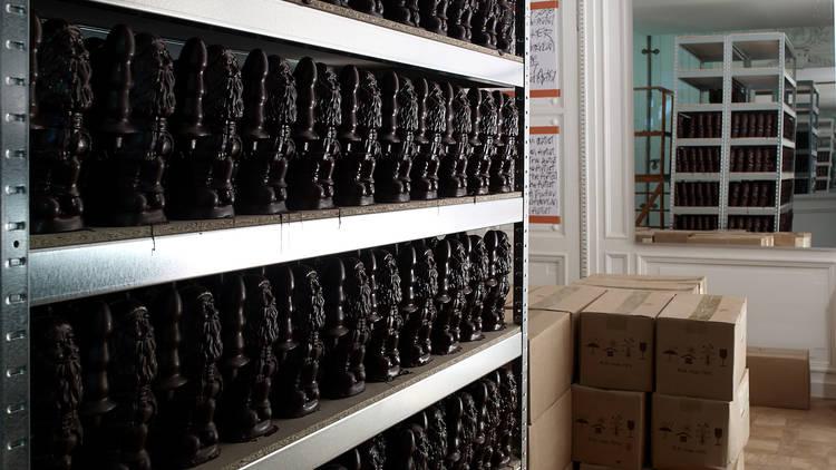 Paul McCarthy, 'Chocolate Factory' / Monnaie de Paris / © Marc Domage / Courtesy de l'artiste et galerie Hauser & Wirth