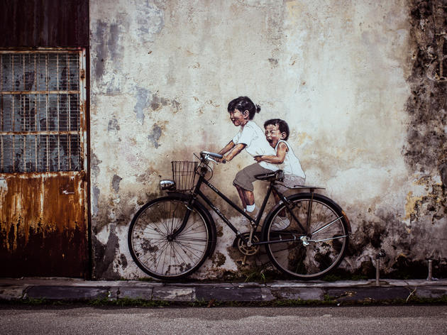 Play hide and seek with Penang's street art