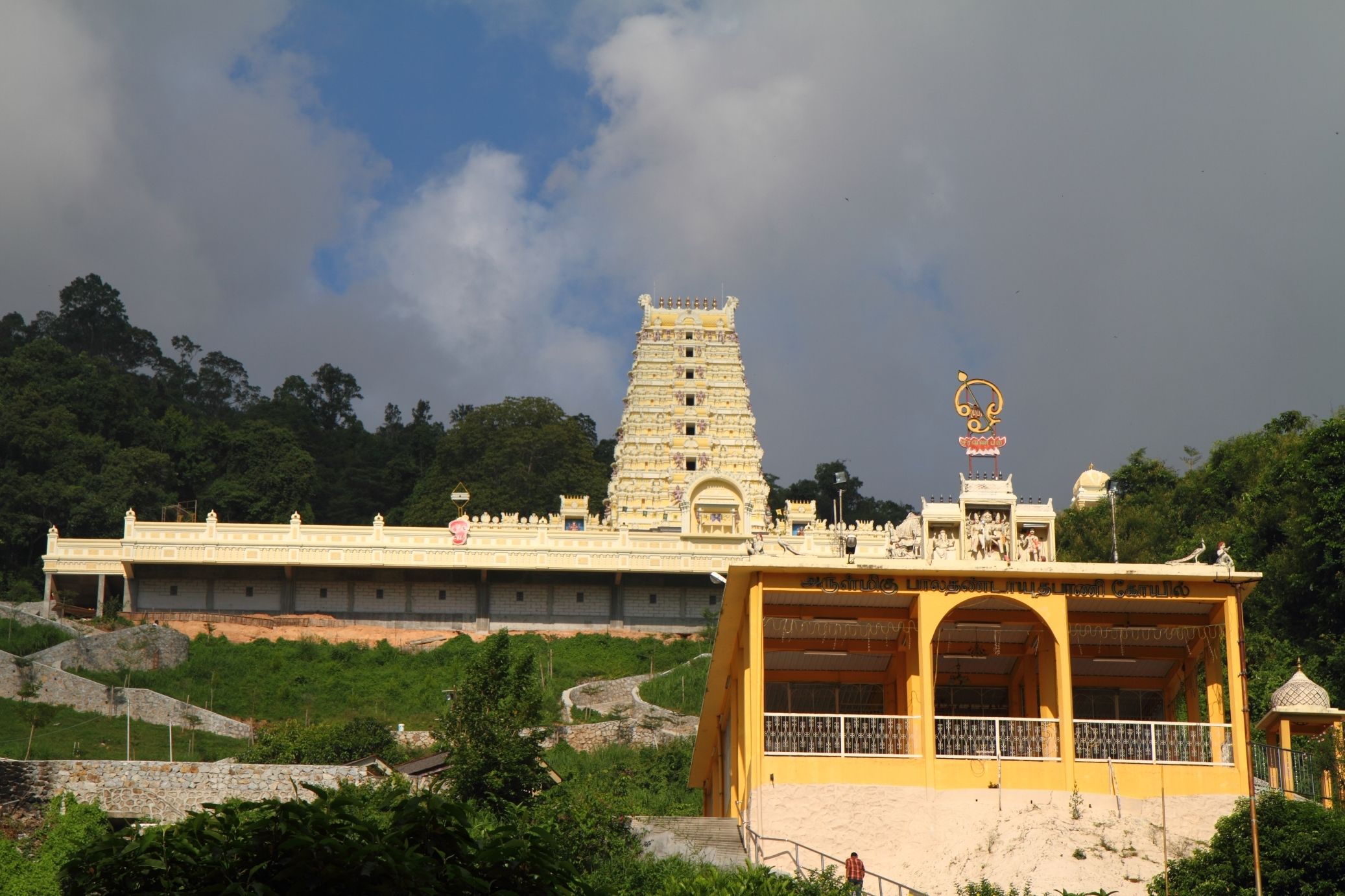 Indian temples on Waterfall Road