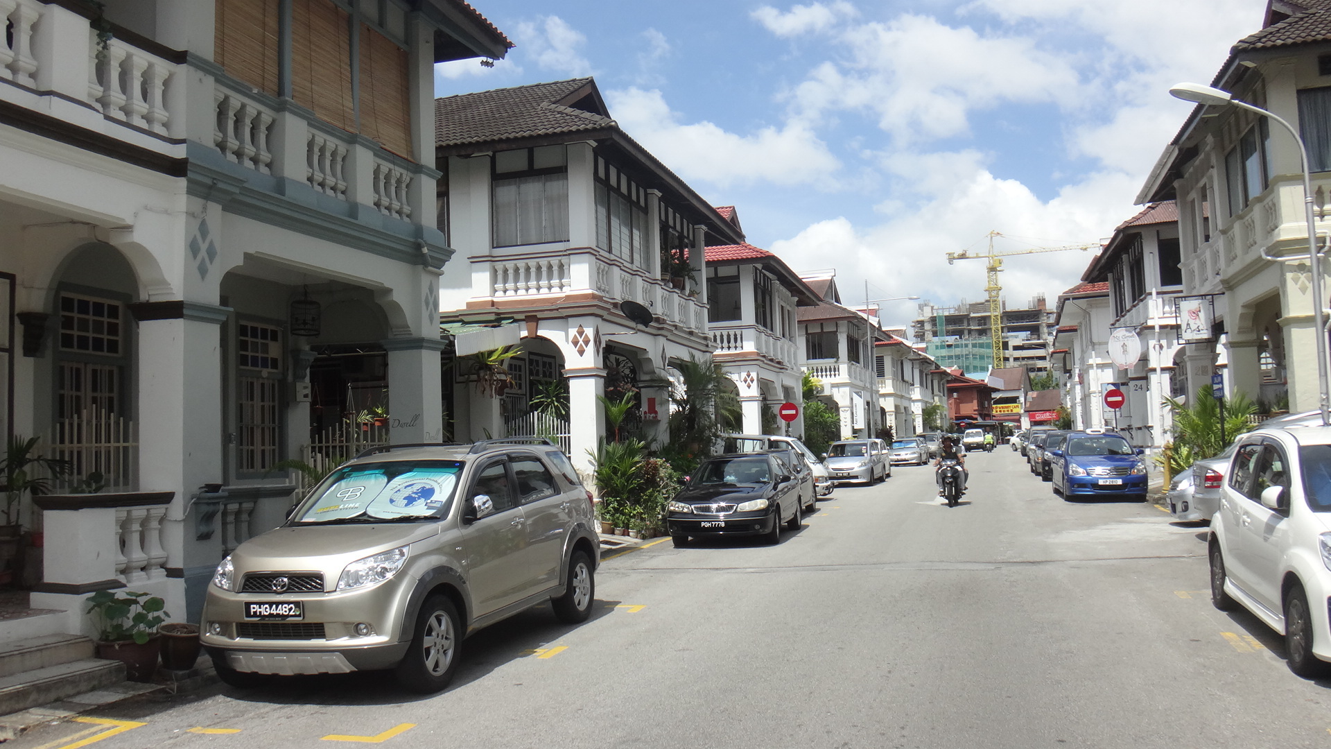 Houses on Bangkok Lane