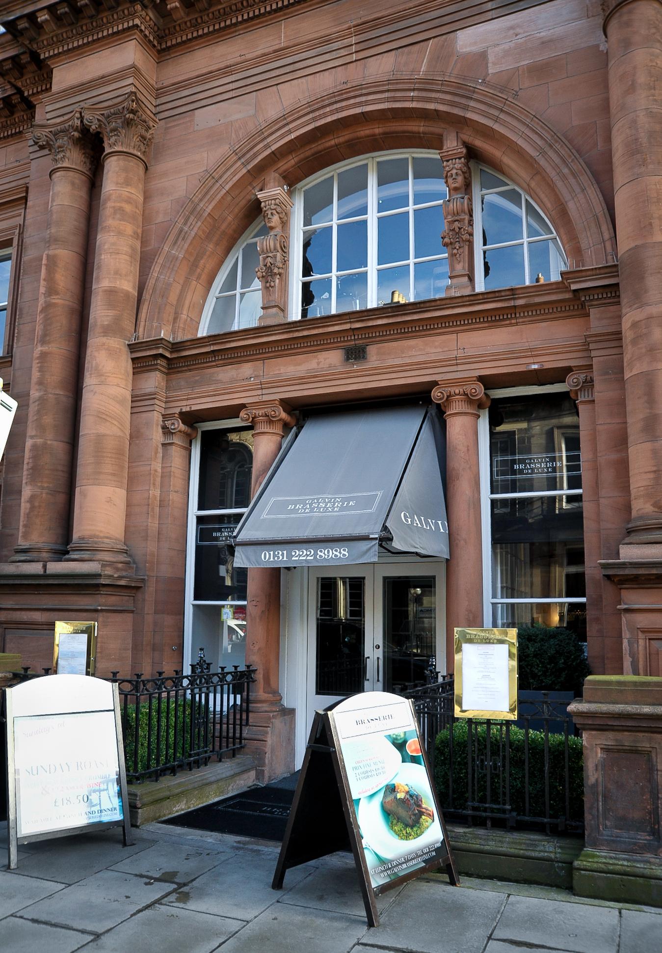 Galvin Brasserie de Luxe, Restaurants, Edinburgh