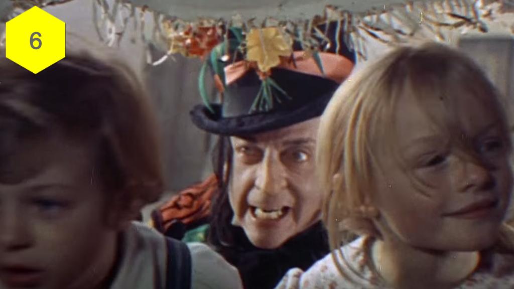 Chitty Chitty Bang Bang, terrifying movie moments, horror movies