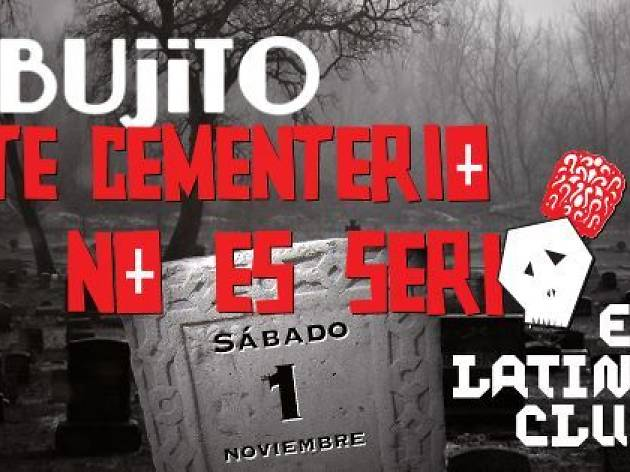 La Rebujito: 'Este cementerio no es muy serio'