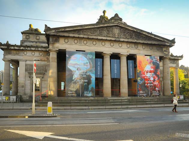 Royal Scottish Academy, Attractions, Galleries, Edinburgh