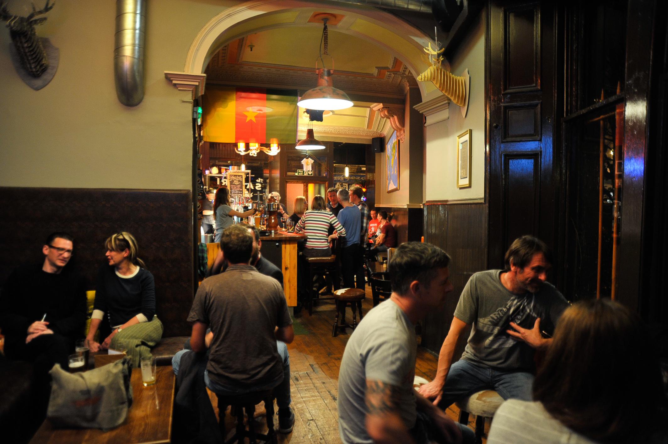 The Safari Lounge, Restaurants, Edinburgh