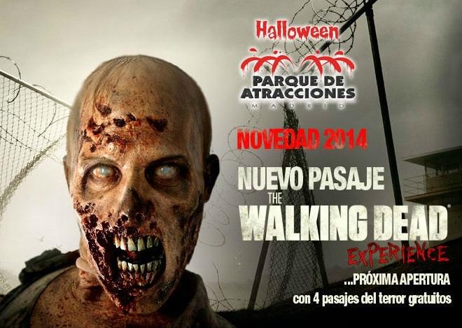 The Walking Dead en el Parque de Atracciones