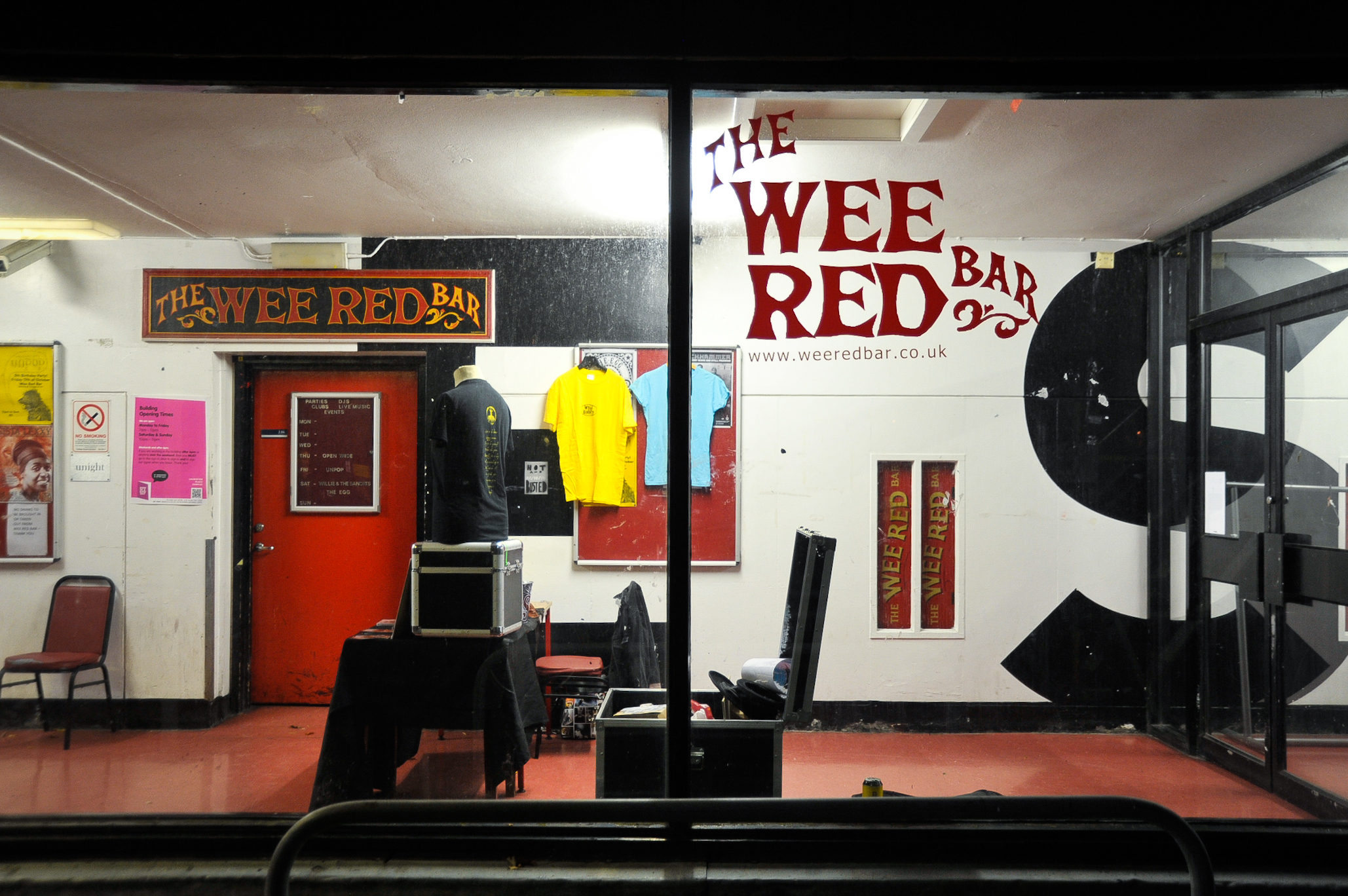 Wee Red Bar, Bars, Edinburgh