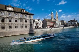 Limmat-Schifffahrt boat trip Zurich