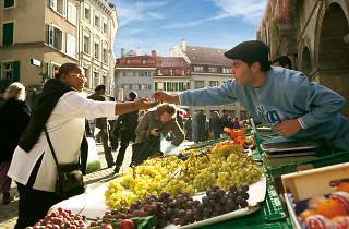 Lausanne market