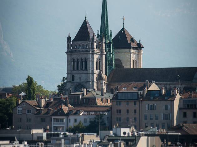 Cathédrale Saint-Pierre Geneva cathedral