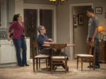 Amy J. Carle, Coburn Goss and Jerry MacKinnon in Luce at Next Theatre Company