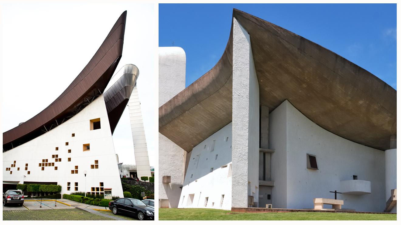 ¿Le Corbusier en el Pedregal?