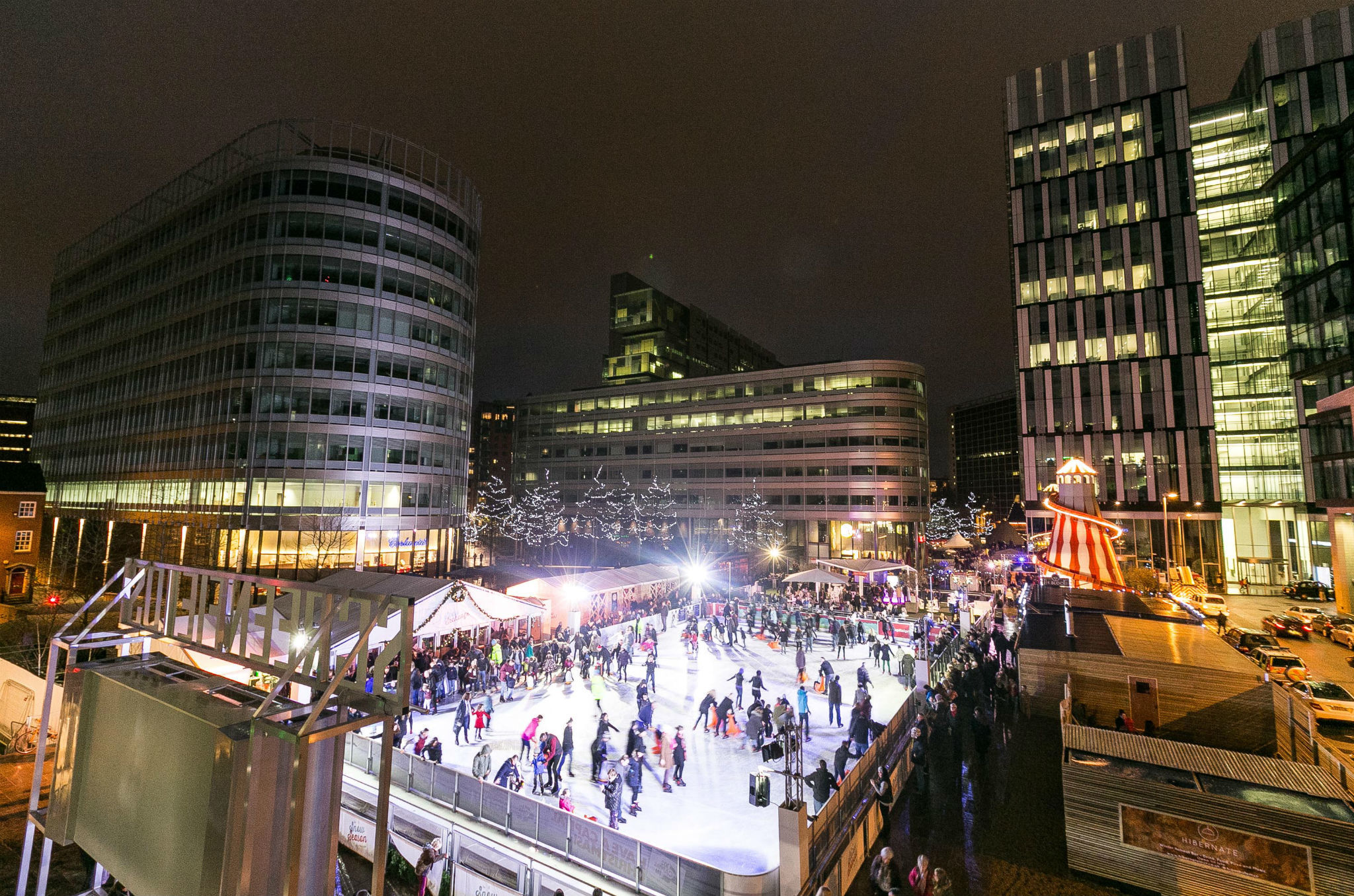 Get your skates on: Manchester's outdoor ice rinks