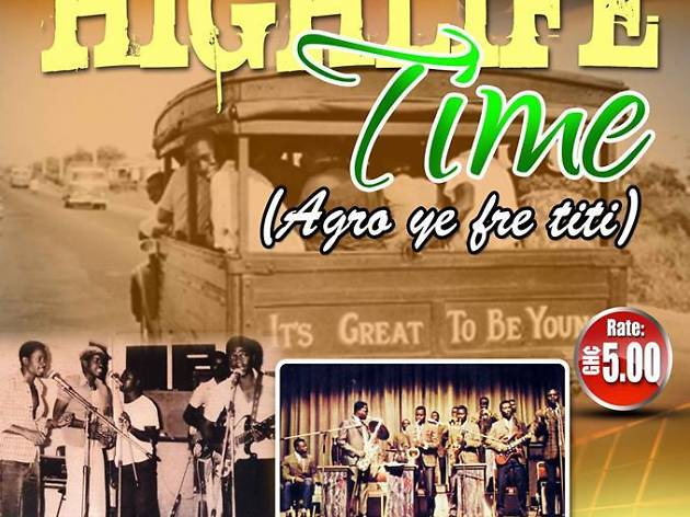 Highlife Time at National Theatre of Ghana, Accra, Ghana