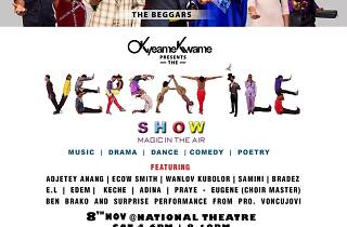 Versatile Show at National Theatre, Ghana, Accra