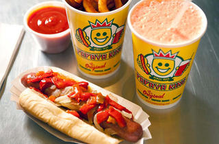 (Photograph: Courtesy Papaya King)