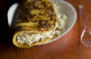 Arepa de choclo from Arepa Lady