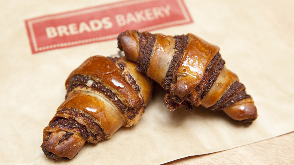 Chocolate Rugelach at Breads Bakery